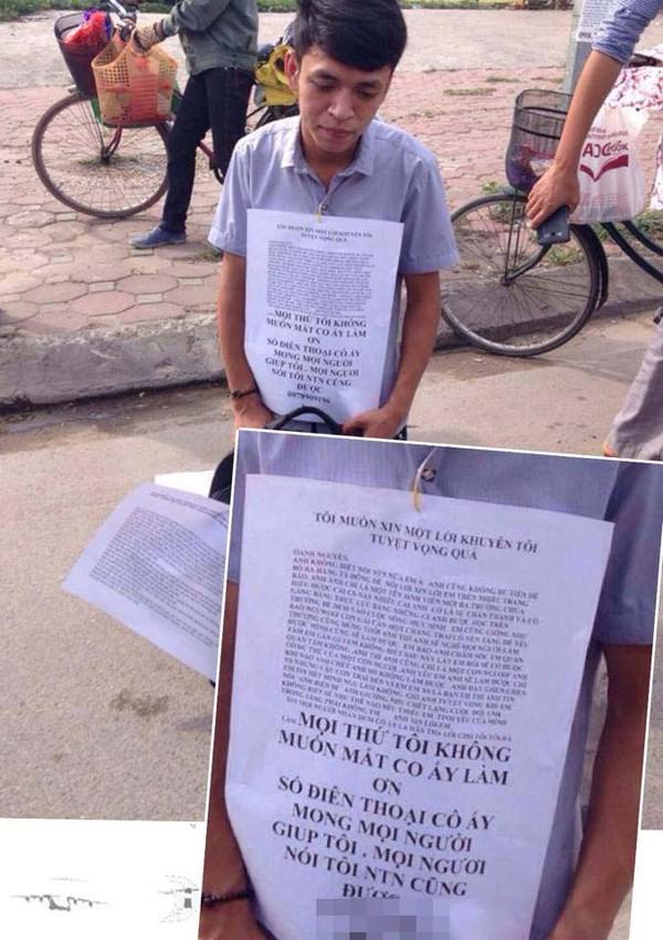 Hà Nội: Nam thanh niên quỳ gối xin níu kéo tình cảm với bạn gái gây xôn xao