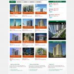 Mẫu Website Bất động sản #MS-BĐS008