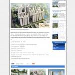 Mẫu Website Bất động sản #MS-BĐS009