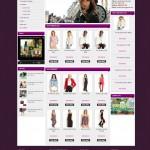 Mẫu Website Thời trang #MS-TT001