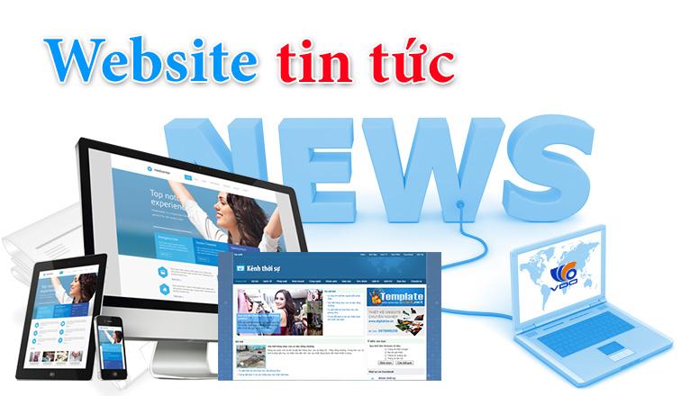 Thiết kế Website tin tức giá rẻ | Thiết kế Website tin tức chuyên nghiệp