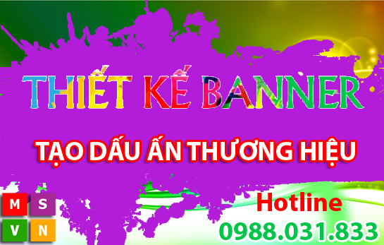 Dịch vụ thiết kế banner website