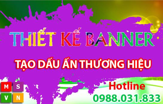 Dịch Vụ Thiết Kế Banner Website | Thiết Kế Banner Giá Rẻ