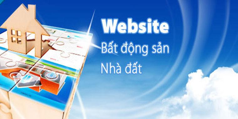 Chuyên thiết kế website bất động sản chuyên nghiệp
