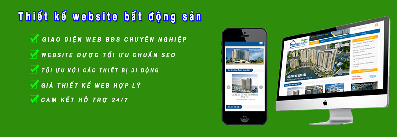 Thiết Kế Website Bất Động Sản Giá Rẻ, Chuẩn SEO Tại Hà Nội