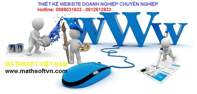 Thiết kế website doanh nghiệp chuyên nghiệp giá rẻ